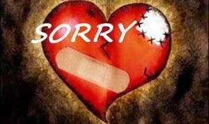 Phút suy tư: Lợi ích của một lời xin lỗi.