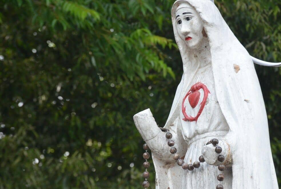 Thánh Lễ Đặt Viên Đá Đầu Tiên TTHH Đức Mẹ Măng Đen