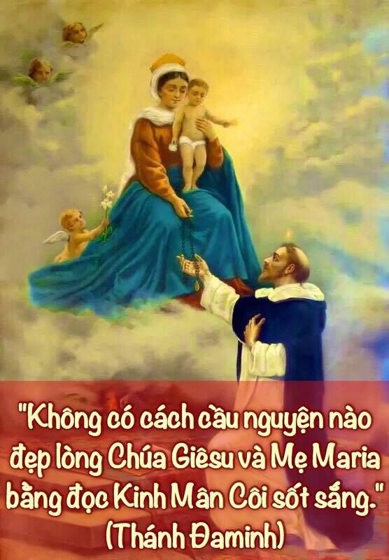 Phương Cách Lần Hạt Chuỗi Mân Côi Đẹp Lòng Chúa Và Mẹ