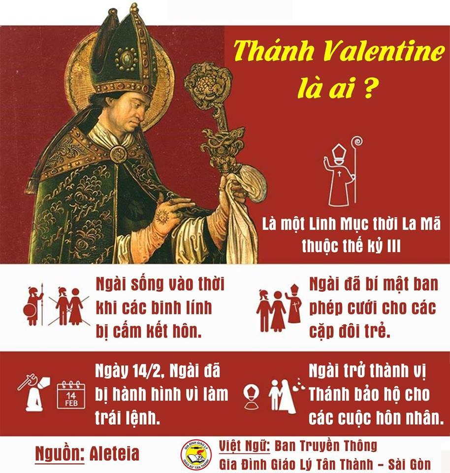 Thánh Valentine và lịch sử Ngày Tình Yêu 14/2