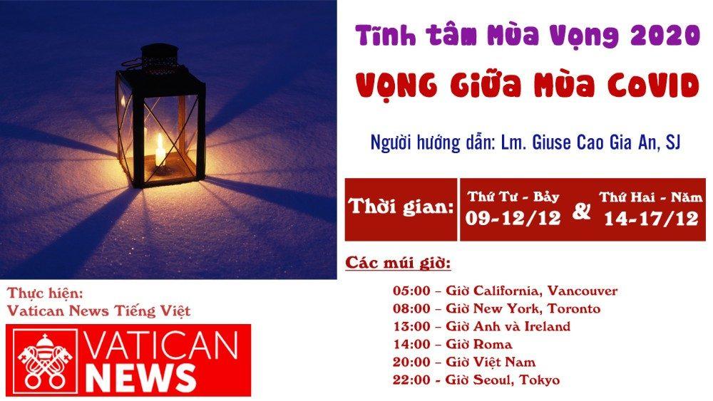 Gợi ý tĩnh tâm Mùa Vọng 2020 của Vatican News Tiếng Việt