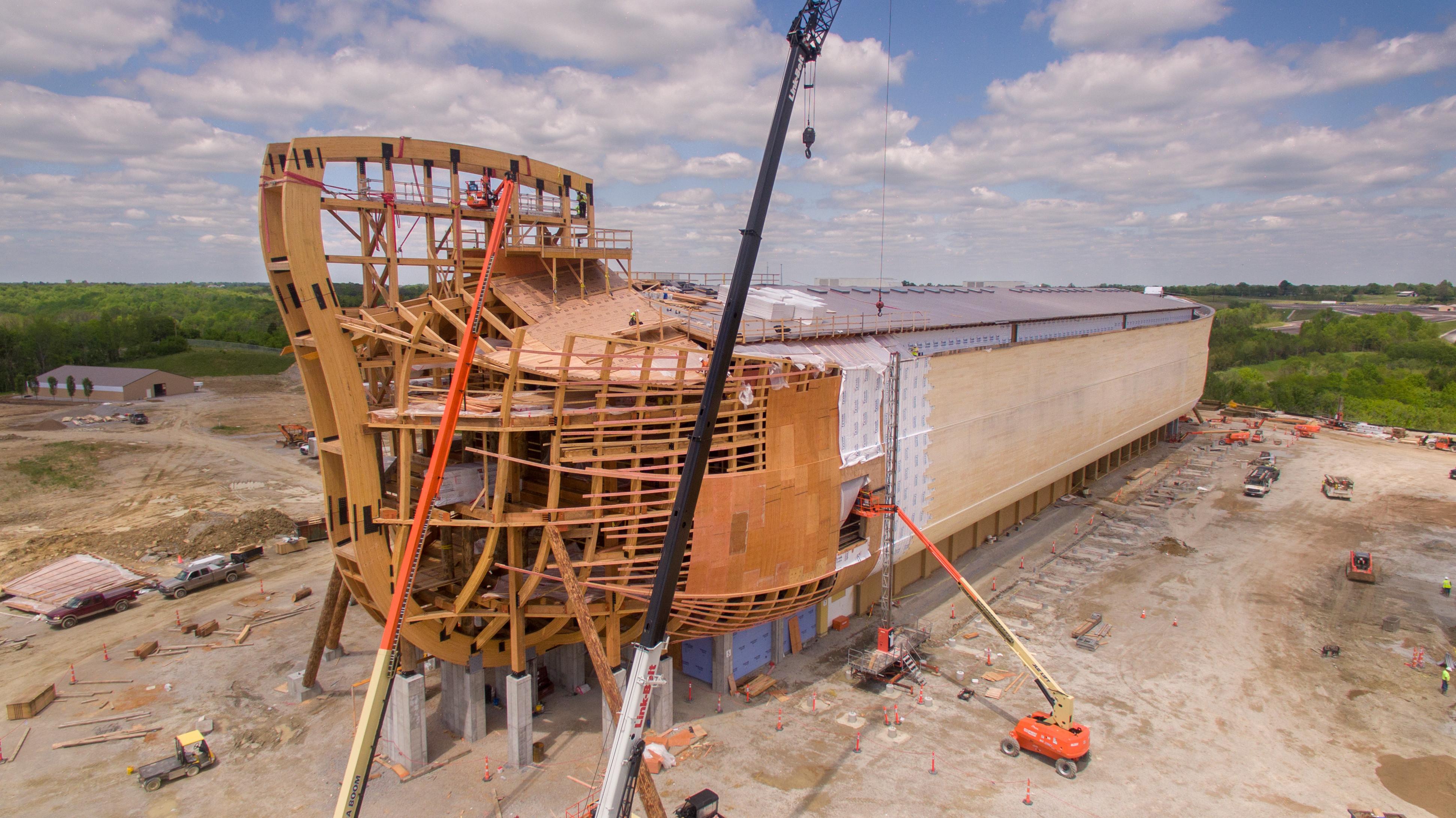Chiêm ngưỡng Con tàu Noah ngoài đời thực