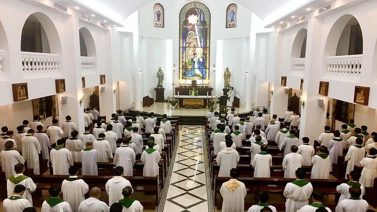 Linh mục đoàn TGP Hà Nội tĩnh tâm định kỳ tháng 9 – 2020