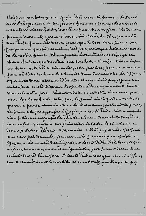 Nguyên văn Bí Mật Fatima phần III và lời giải thích của Giáo hội
