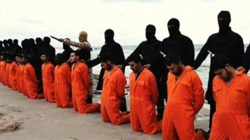 Hài cốt của 21 tín hữu Kitô Hữu bị nhóm Hồi giáo IS giết có thể đã được tìm thấy