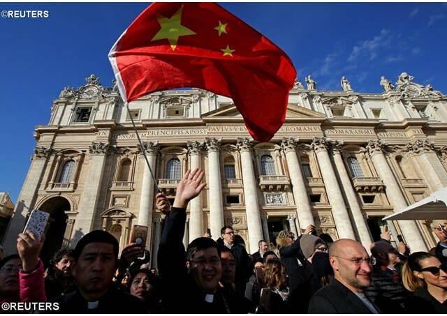 Trung quốc cấm khách du lịch thăm viếng Vatican