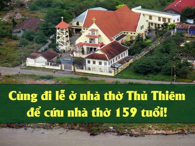 Sá ng kiến của người trẻ: mời tham dự thánh lễ tại nhà thờ Thủ Thiêm, Sài Gòn và Sainte Marie, Hà Nội