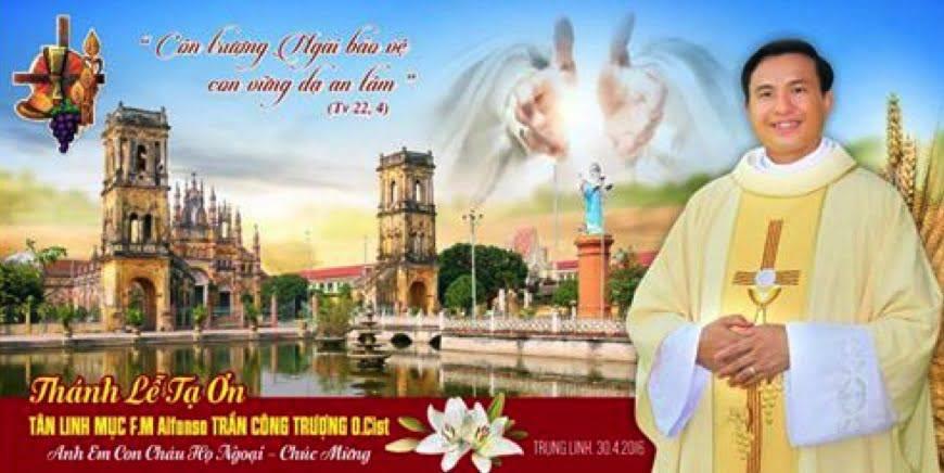 Tân linh mục Alphonso, hành trình theo Chúa