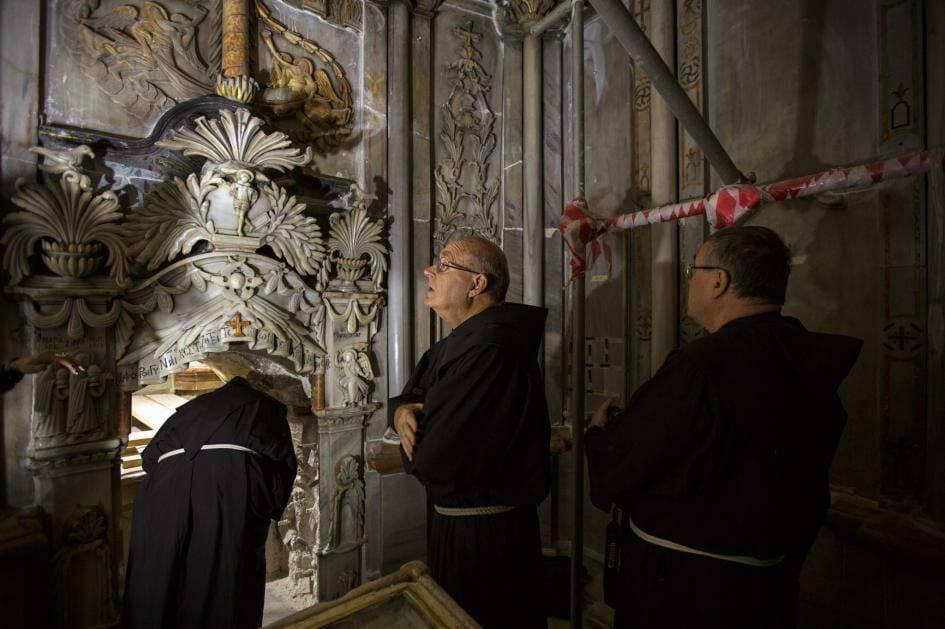 Thêm phát hiện quan trọng ở nhà thờ Mộ Chúa