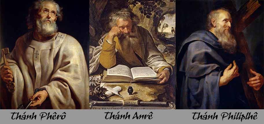 Thêm chứng cứ về nơi sinh của 3 thánh tông đồ
