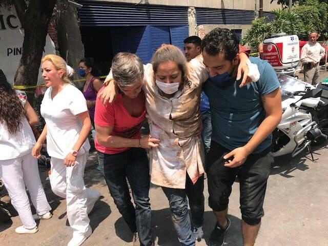 """Động Đất Kinh Hoàng Ở Mexico: """"Như Thể Chúa Nổi Giận """""""