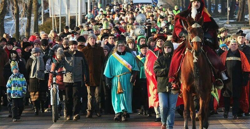 1.2 triệu người Ba Lan tham gia các cuộc rước long trọng lễ Hiển Linh