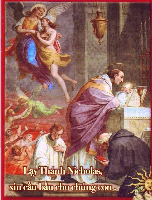 THÁNH NICHOLAS CỨU CÁC LINH HỒN LUYỆN NGỤC