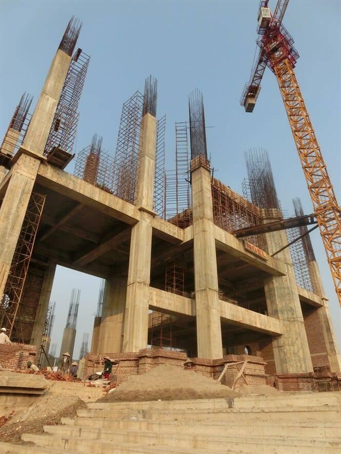 Đại gia Ninh Bình chi 400 tỷ xây nhà thờ to như quả núi lớn nhất Việt Nam