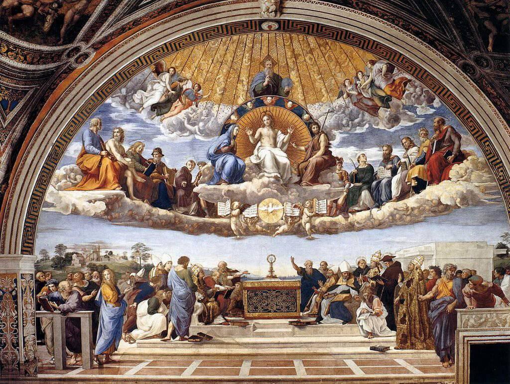 12 Bức Tranh Tôn Giáo Nổi Bật