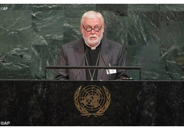 Ngoại trưởng Tòa Thánh kêu gọi Mỹ và Bắc Triều Tiên đấu dịu