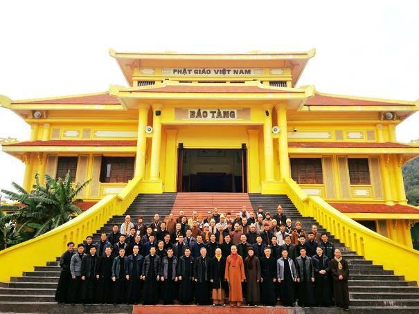 Hà Nội: Giao lưu giữa chủng sinh và tăng ni sinh tại Học viện Phật giáo Việt Nam