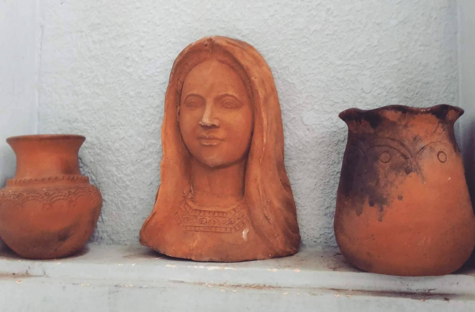 Tượng Chúa bằng gốm từ đôi tay nghệ nhân Chăm