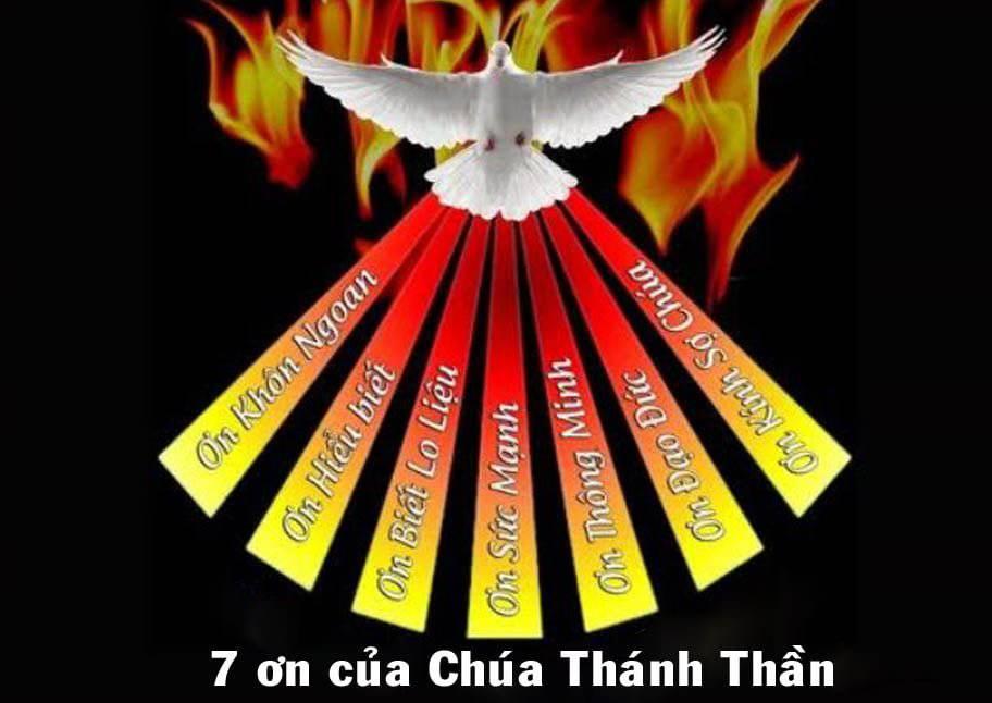 7 ơn của Chúa Thánh Thần và ý nghĩa mỗi ơn