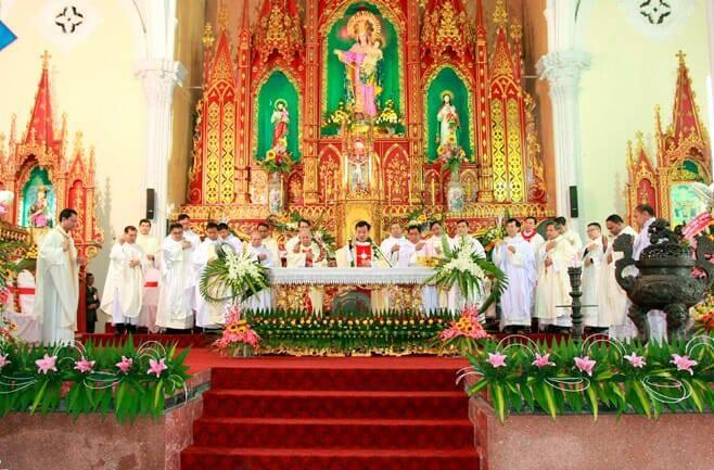 Gx. Xuân Thuỷ: 107 năm mới có một tân linh mục