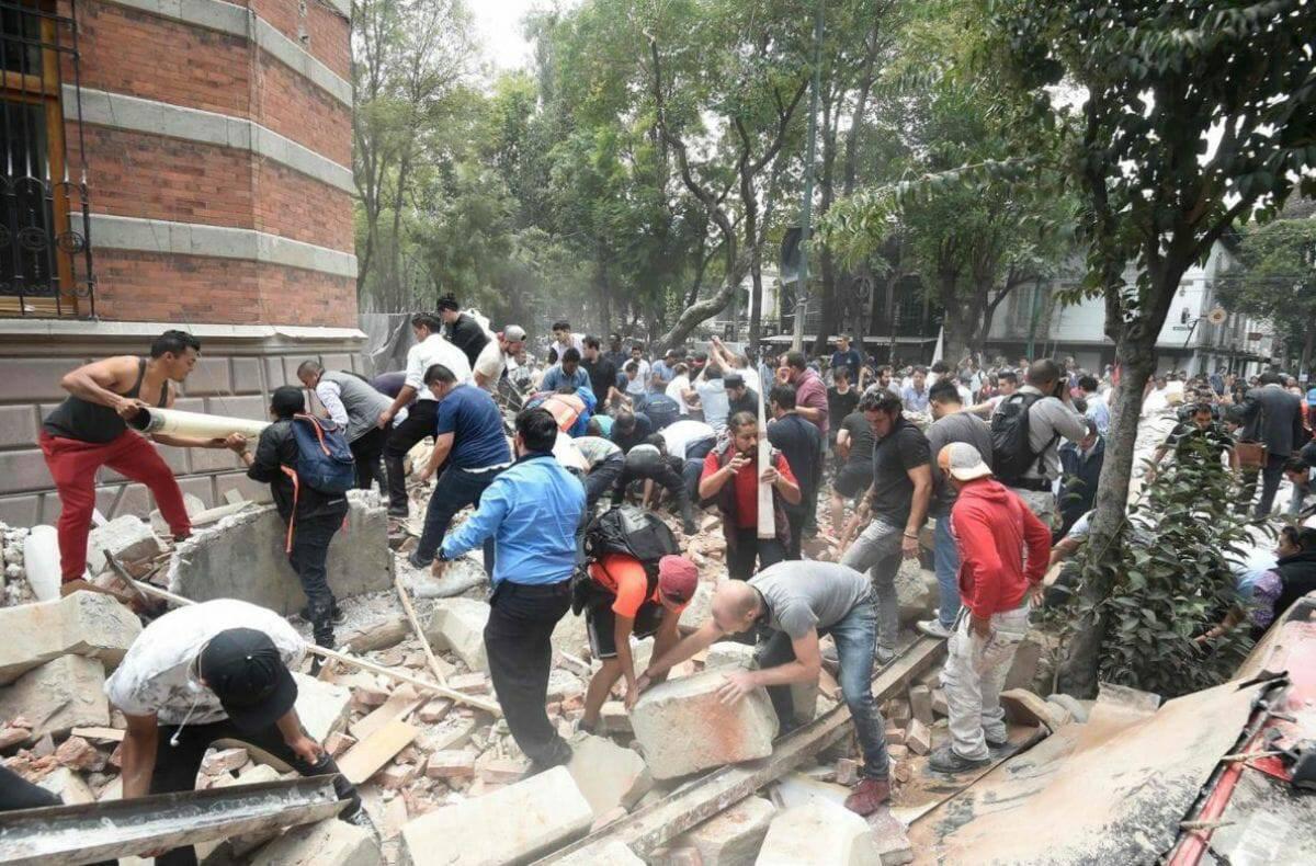 Mexico động đất lần thứ 2: Giáo hội kêu gọi xin Đức Bà Guadalupe che chở.