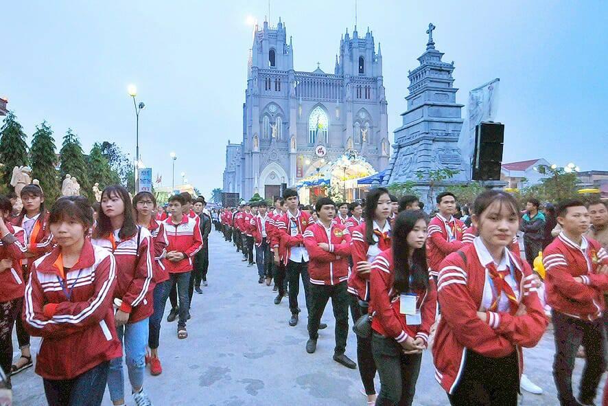 Bùi Chu đại lễ Đức Mẹ Vô Nhiễm 2017