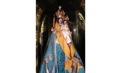 Đức Mẹ Quinche rất linh thiêng ở Êcuador