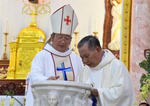Giáo Xứ đông giáo dân nhất Sài Gòn đón cha tân chánh xứ