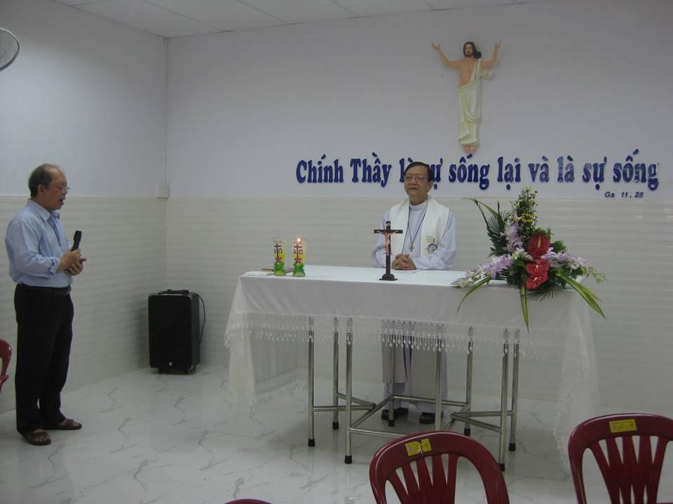 Nhà Lễ An Tá ng cho người nghèo giữa Sài Gòn