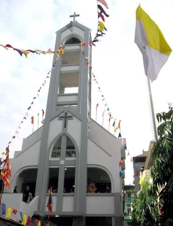 Giờ Lễ Nhà Thờ Họ Hoàng Thôn | Giờ Lễ Tổng Giáo Phận Hà Nội