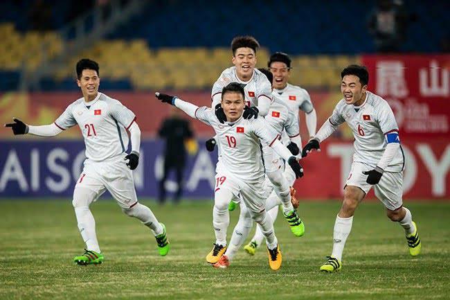 Chúa đang ở cùng U23 Việt Nam và Người Công Giáo Việt Nam ở cùng Đội Tuyển U23 trong trận chiến thắng Quatar ngày 23/1 vừa qua